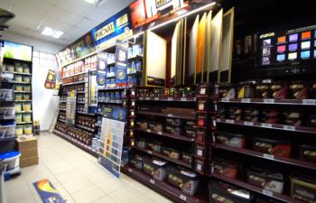 TĘCZA GIZYCKO, farby, lakiery, akcesoria malarskie, materiały budowlane, elektronarzędzia, żywice